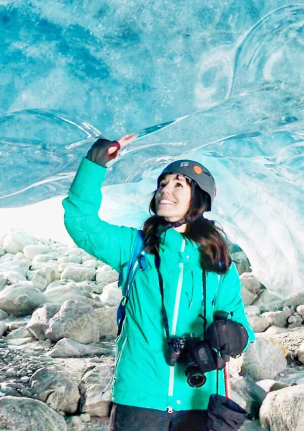 EXPLORING WHISTLER ICE CAVES BY HELICOPTER