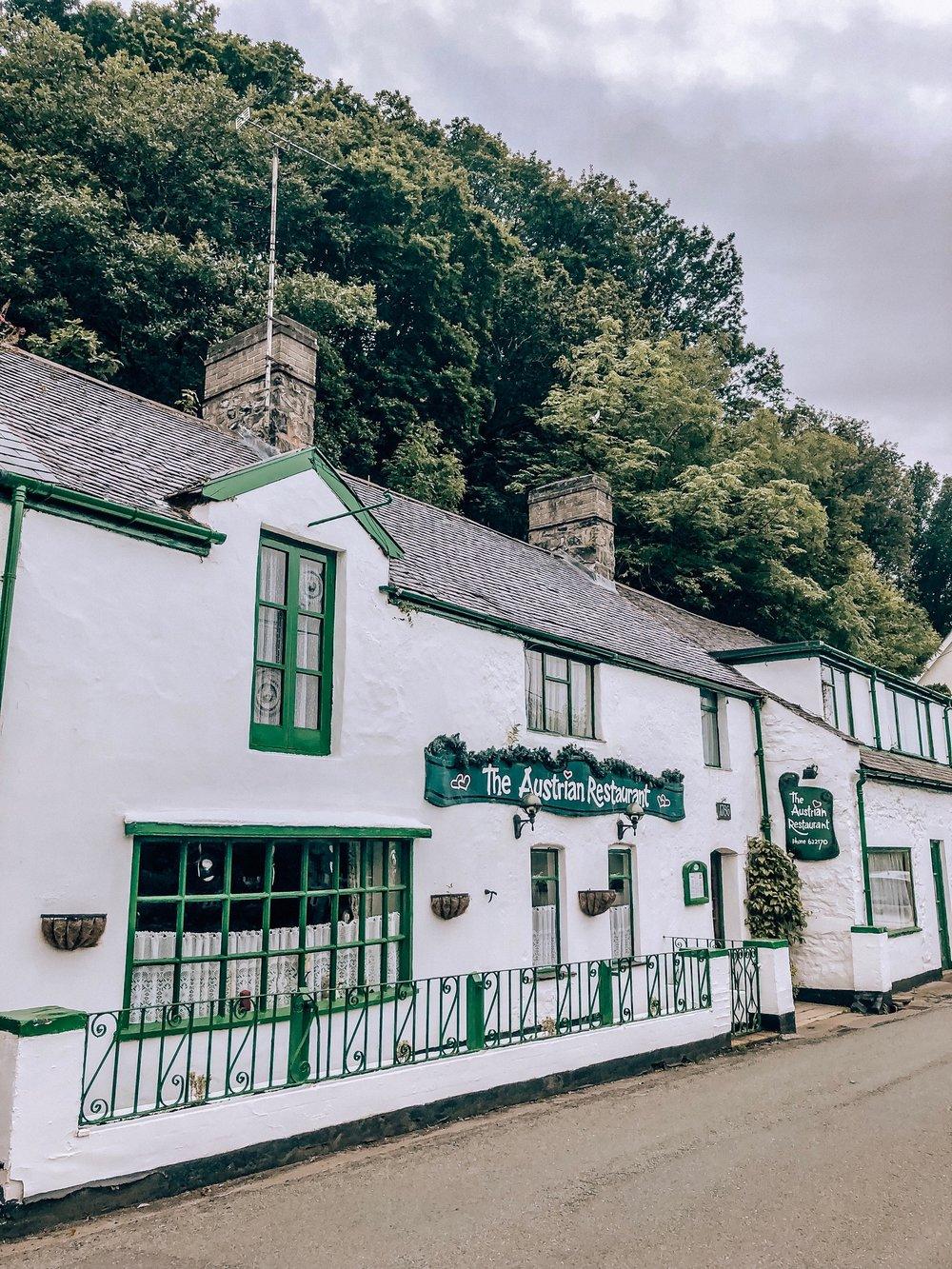 Austrian restaurant in Conwy Wales