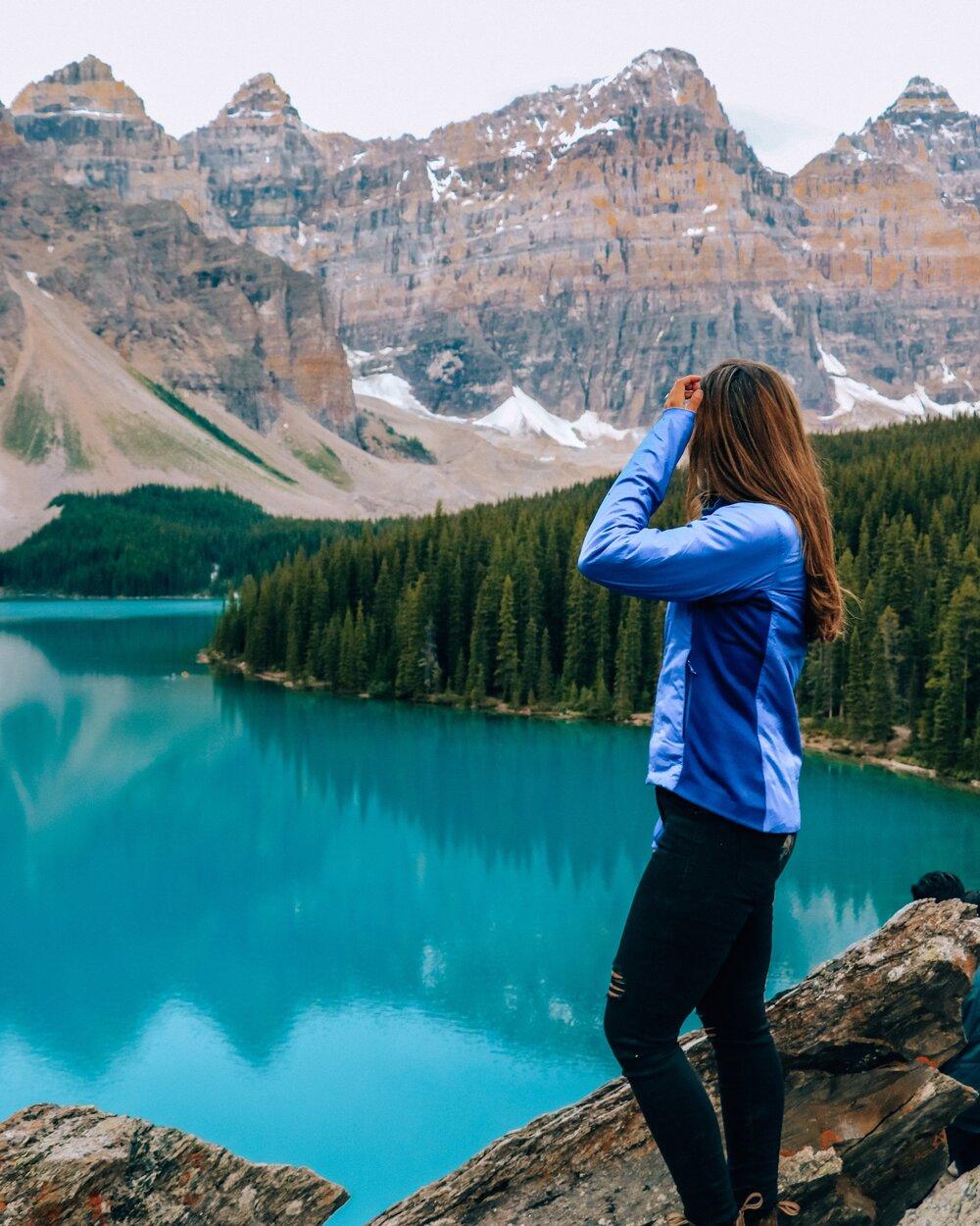 Moraine Lake Alberta Canadian Rockies
