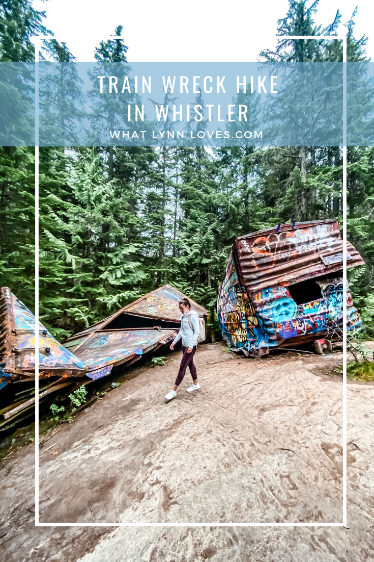 Easy Whistler Hike Train Wreck Trail and Suspension Bridge
