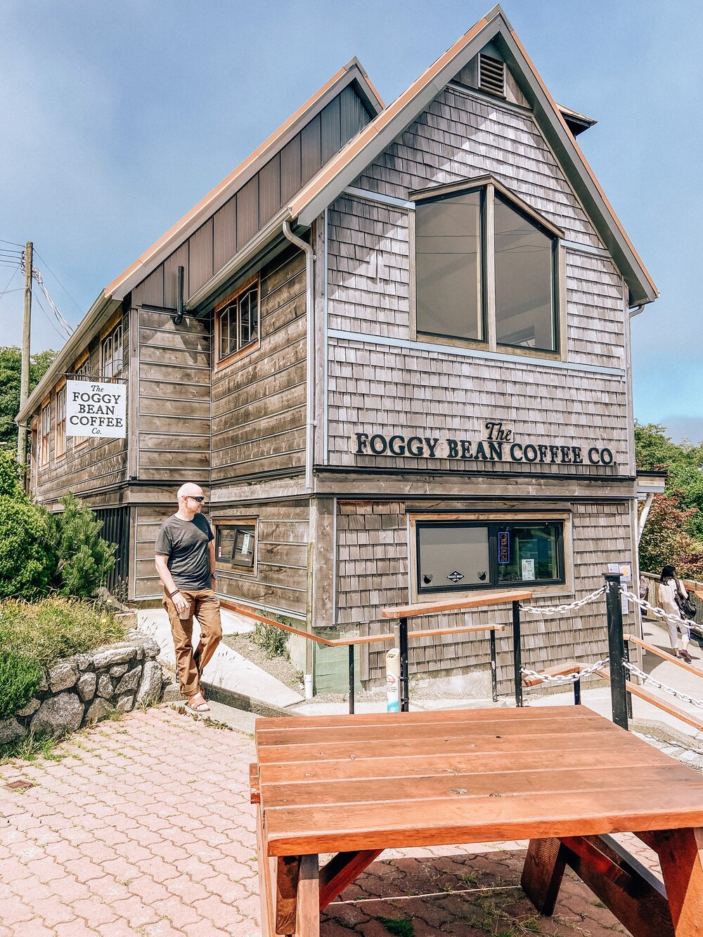 Best coffee shop in Ucluelet, BC