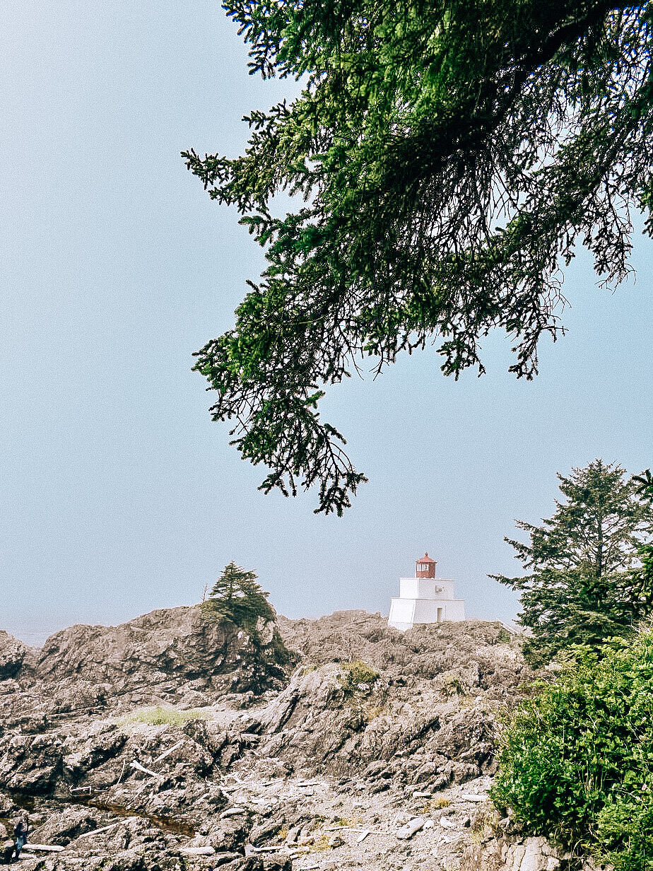 Amphitrite Point Lighthouse Ucluelet BC