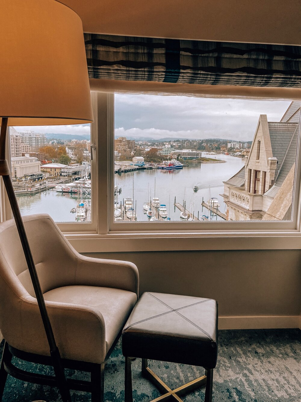 Best Victoria hotel with a view Fairmont Empress