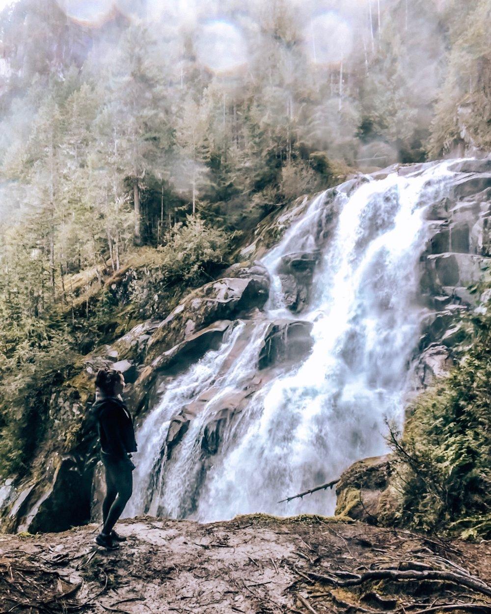 Crooked Falls Hike in Squamish British Columbia