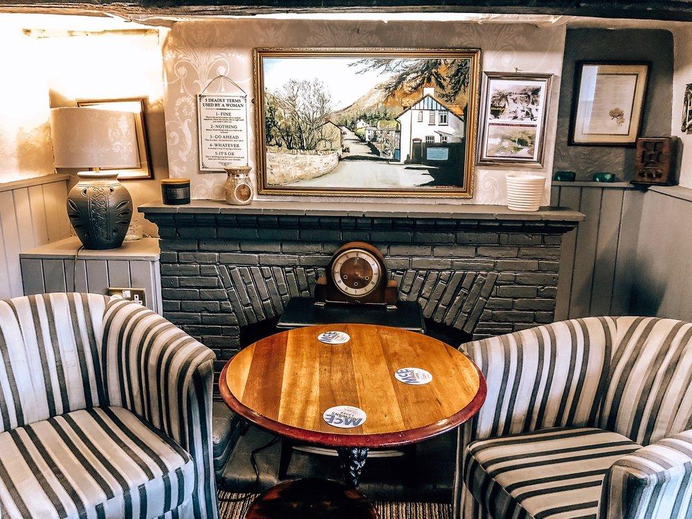 Fairy Glen welsh pub in Dwygyfylchi near Penmaenmawr