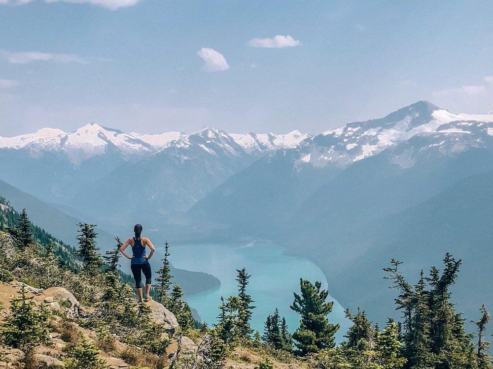 Garibaldi Lake views from High Note Trail Hike