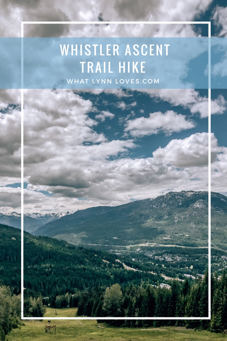 Whistler Blackcomb Ascent Trail Summer Hike in Canada