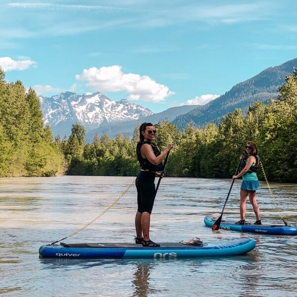 River Stand-Up Paddling in Pemberton