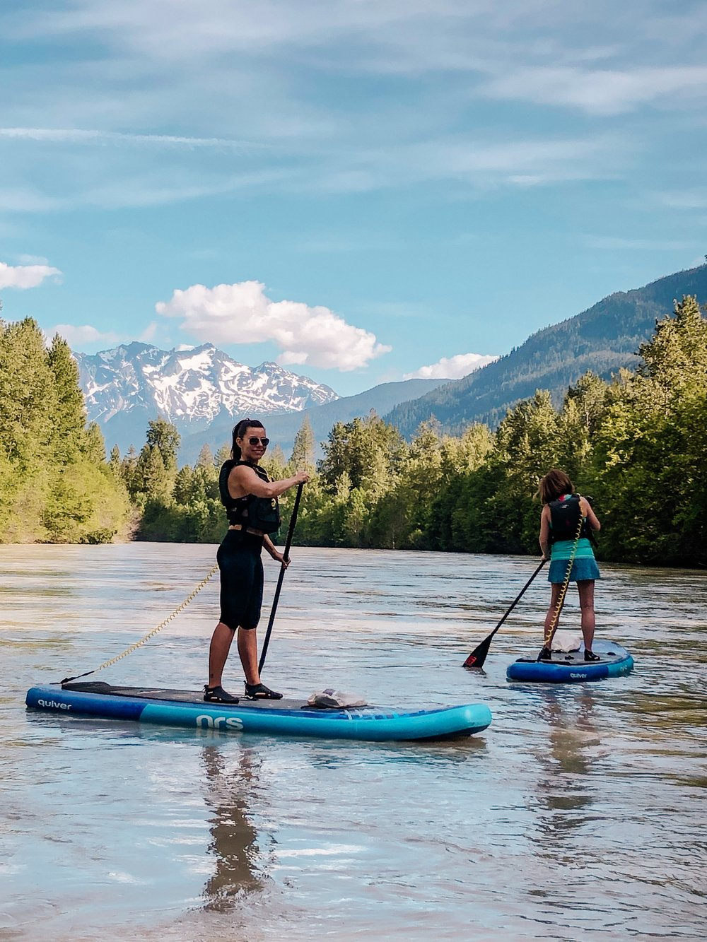 Whistler unique activity SUP