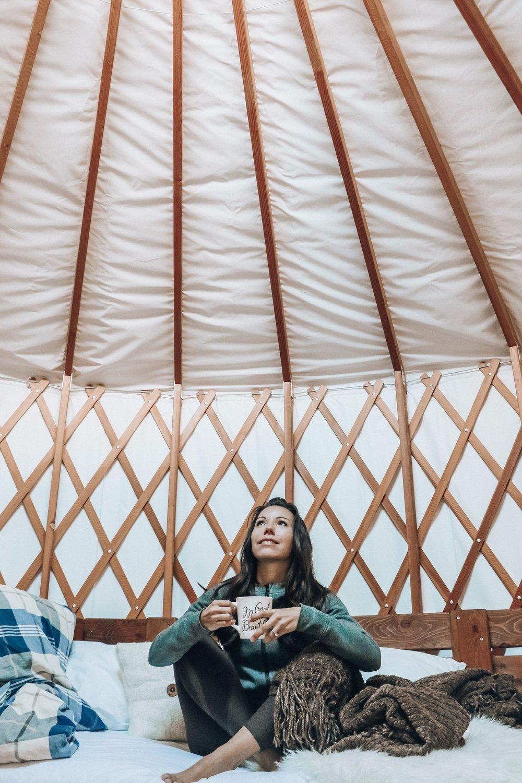 Unique tent interior ideas for camping