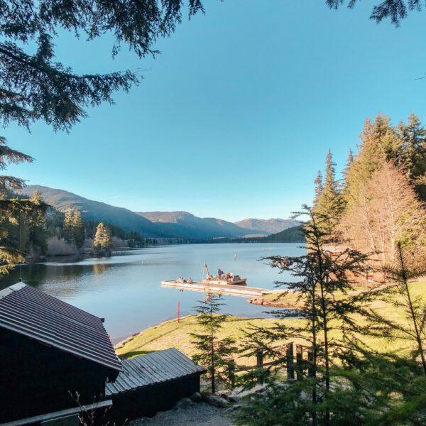 Lakeside Park on Alta Lake Whistler Canada