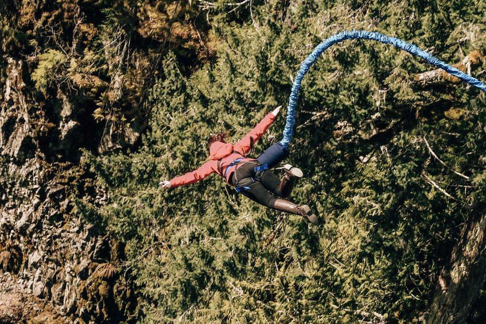 Adrenaline activities in Whistler
