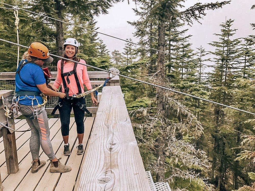 Ziptrek Ecotour Whistler Canada