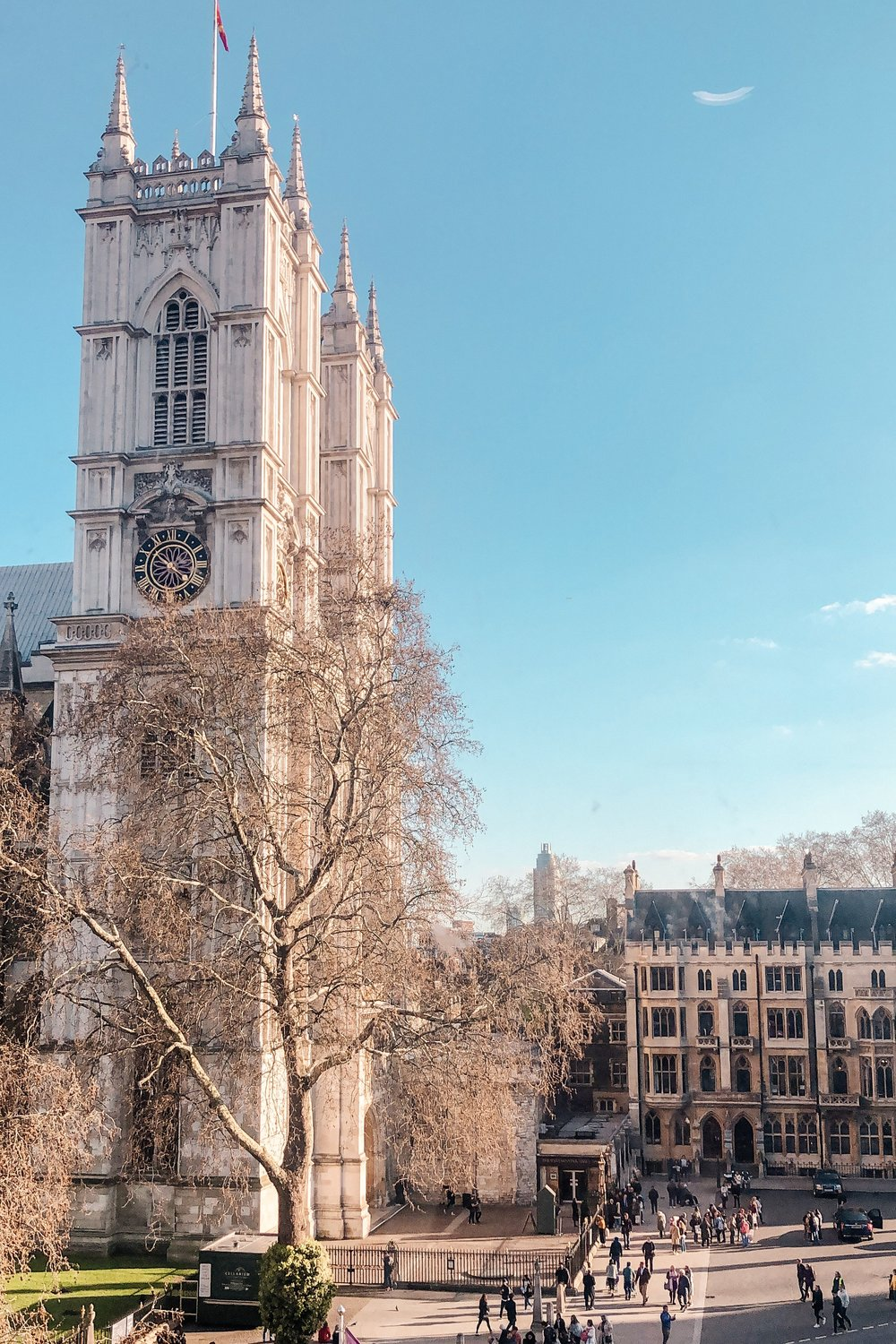 Westminster Abbey and Big Ben London