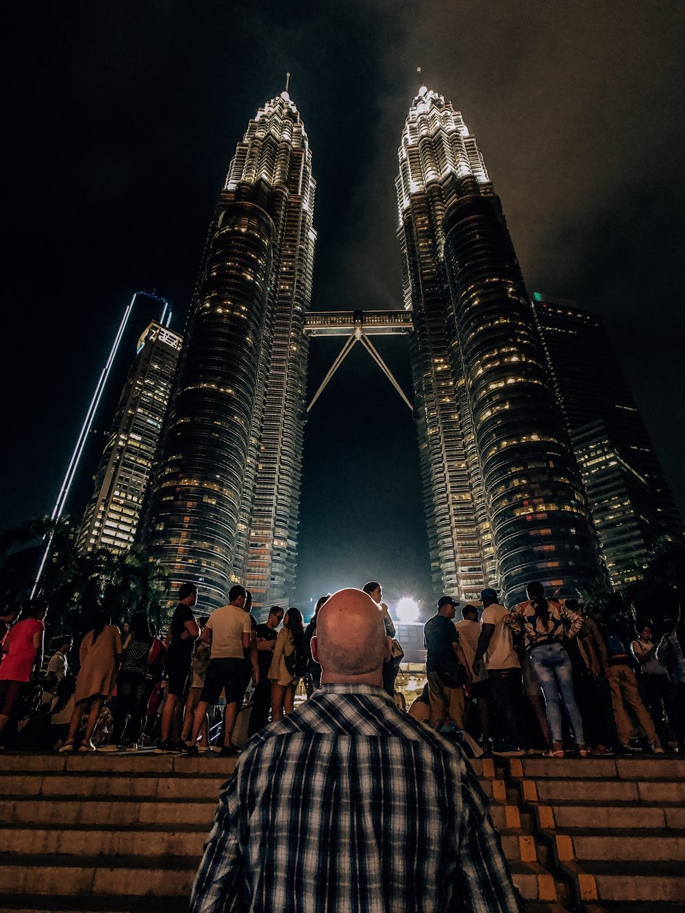 Best places for Instagram photos at Petronas Towers Malaysia