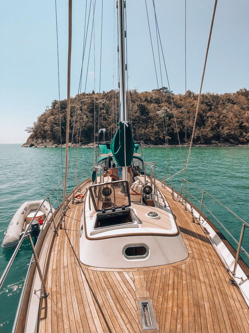 Sailing in Malaysia SE Asia