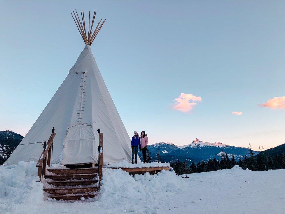 Whistler Snowshoe Teepee Tour