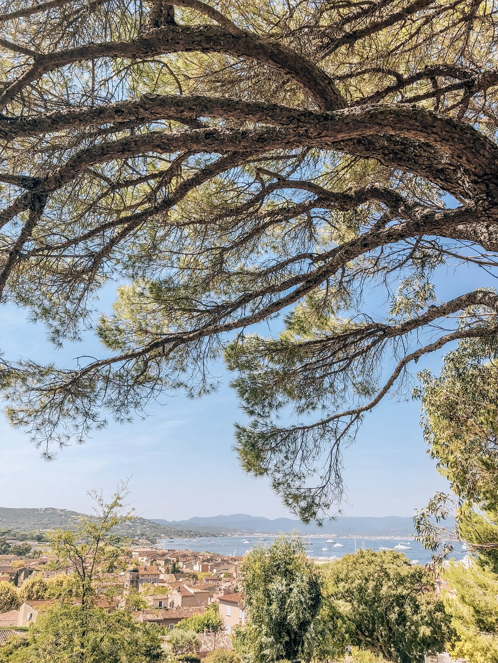 Scenic views of the French Riviera