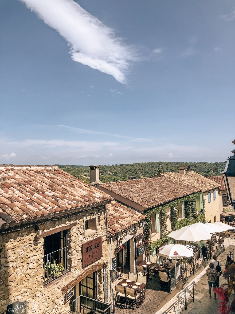 Historical village in French Riviera
