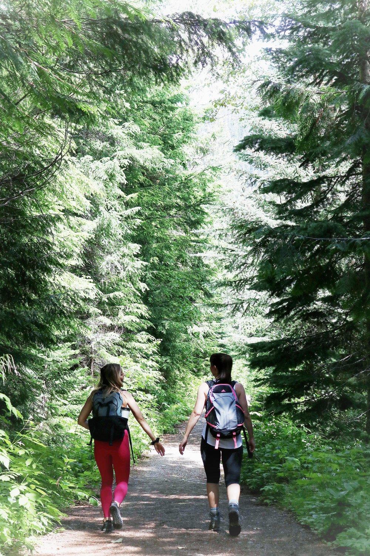 Rainbow Lake Hike Trailhead