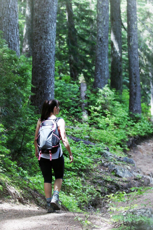 Trailhead at Rainbow Lake Hike