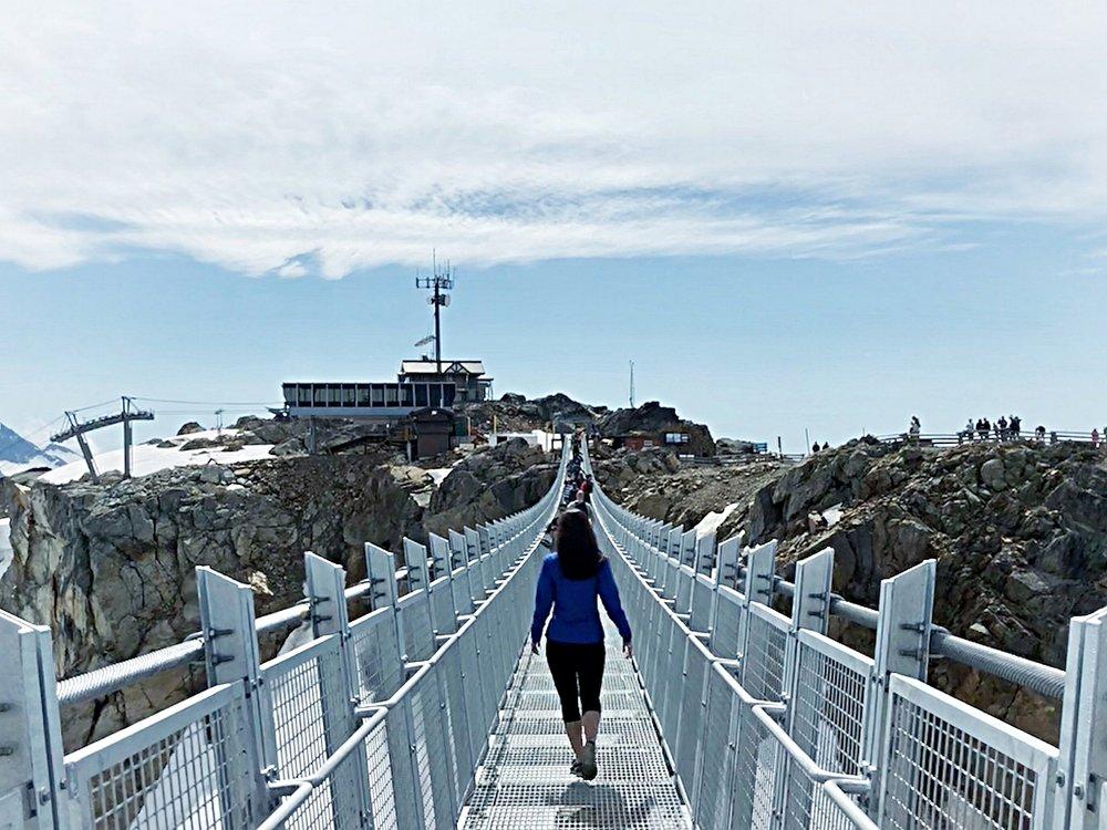 First look Whistler Peak Suspension Bridge Canada
