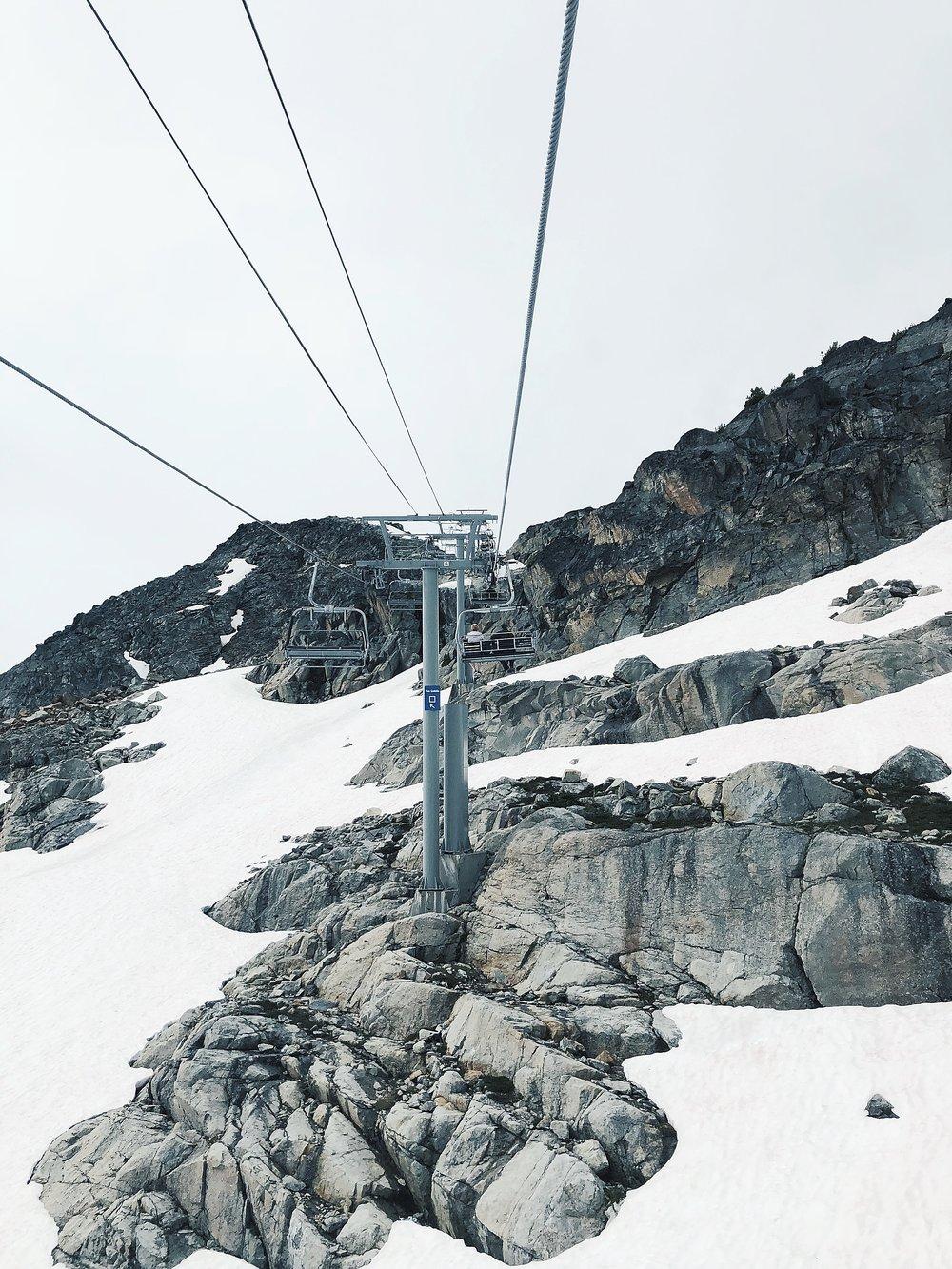 Peak Express chairlift to Whistler Suspension Bridge