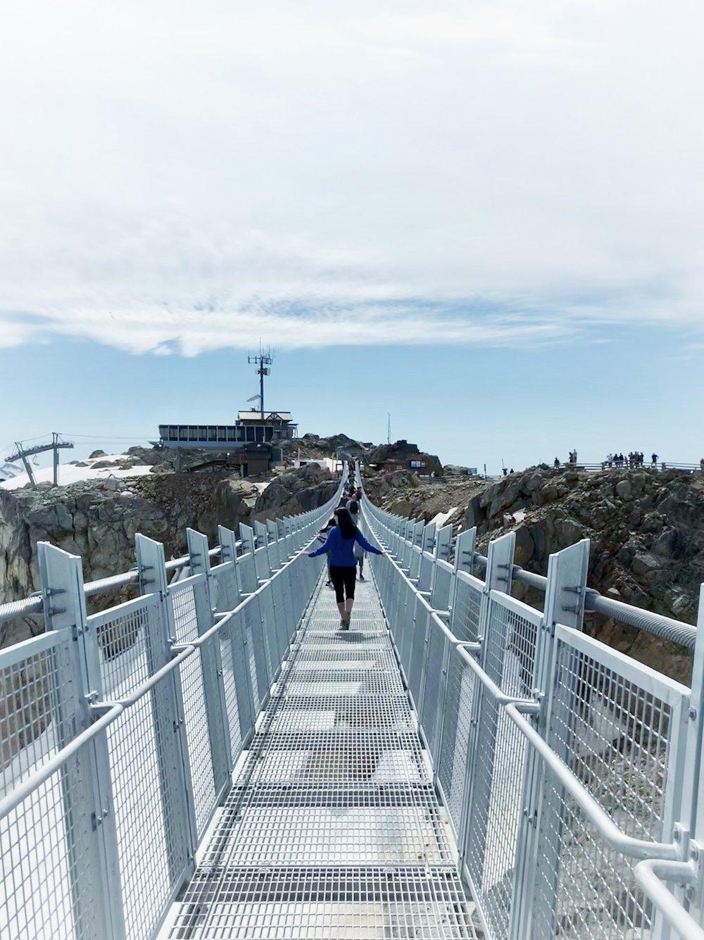 Best suspension bridge in British Columbia Canada