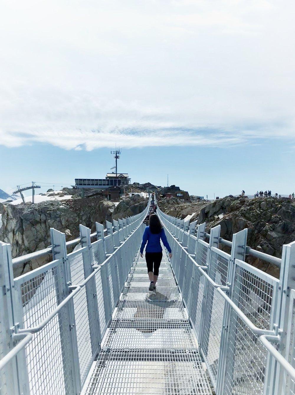 New Whistler Blackcomb suspension bridge