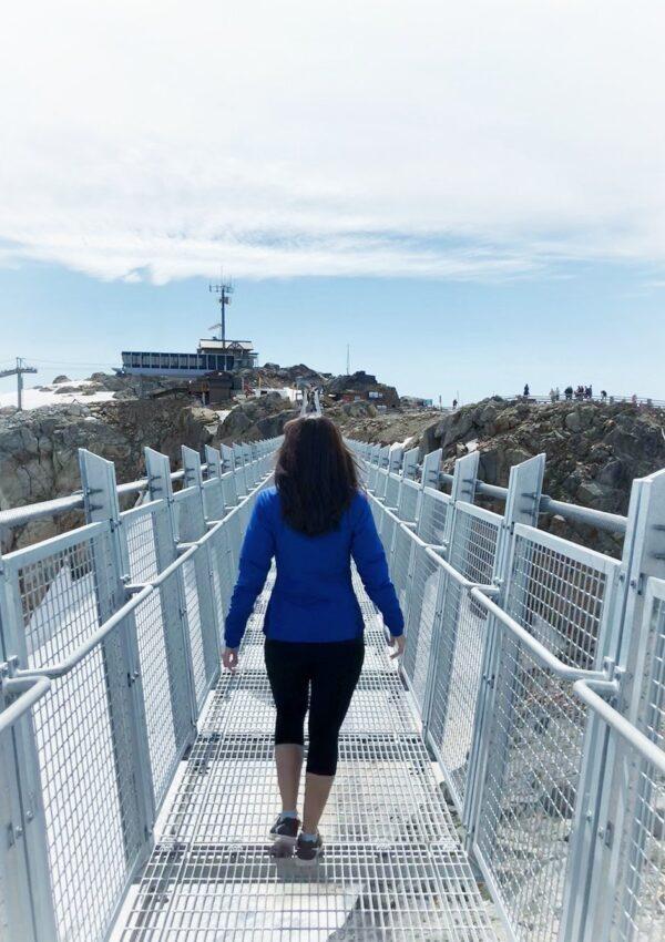 WHISTLER'S NEW SUSPENSION BRIDGE