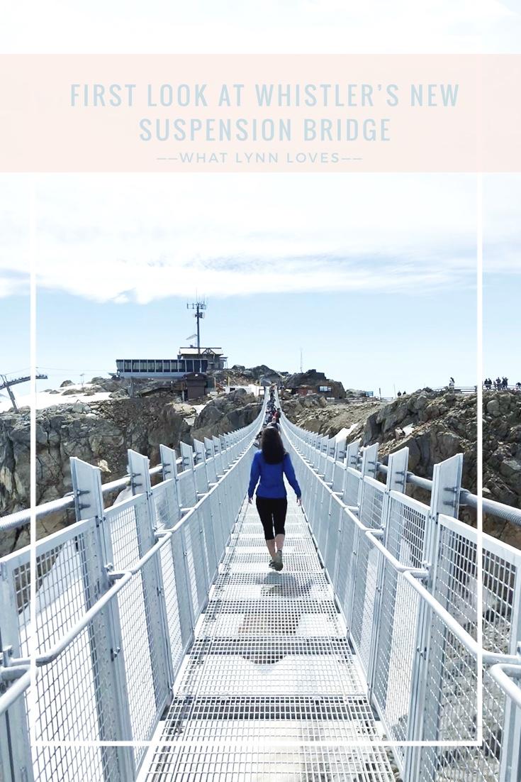 Pinterest Whistler Suspension Bridge in BC Canada