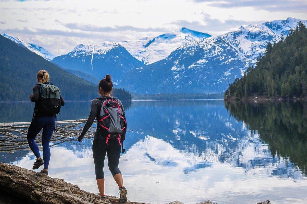 Beautiful Whistler Hike Cheakamus Lake