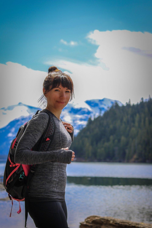 Cheakamus Lake Hike Whistler Mountains