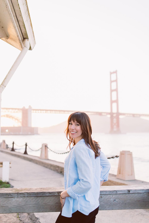 San Francisco Golden Gate Bridge sunset