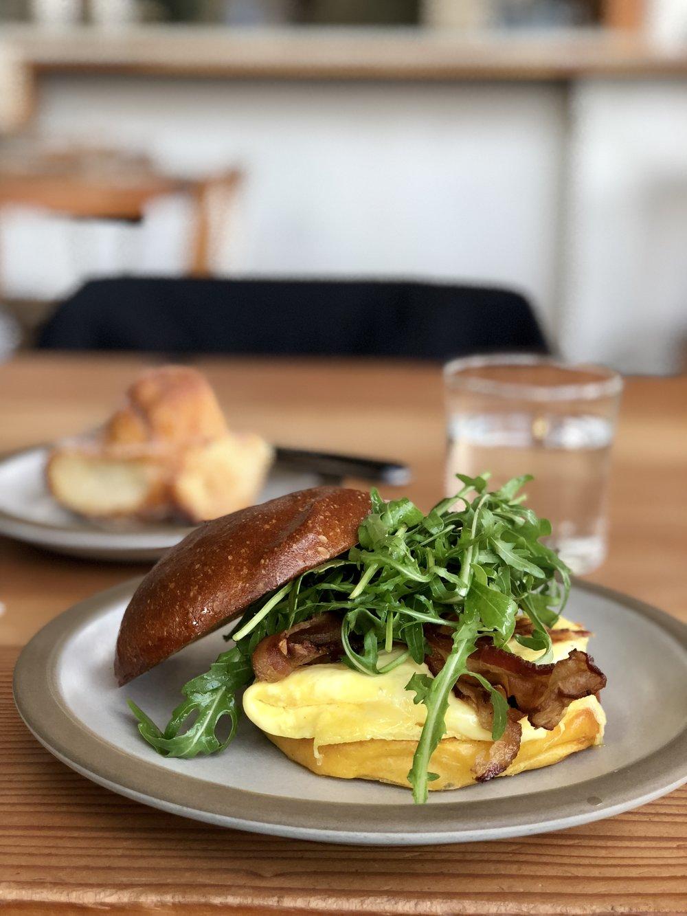 Tartine Manufactory Breakfast Egg Sandwich