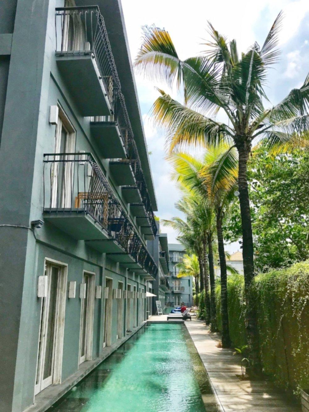 FRii Hotel in Canggu Bali affordable accommodation