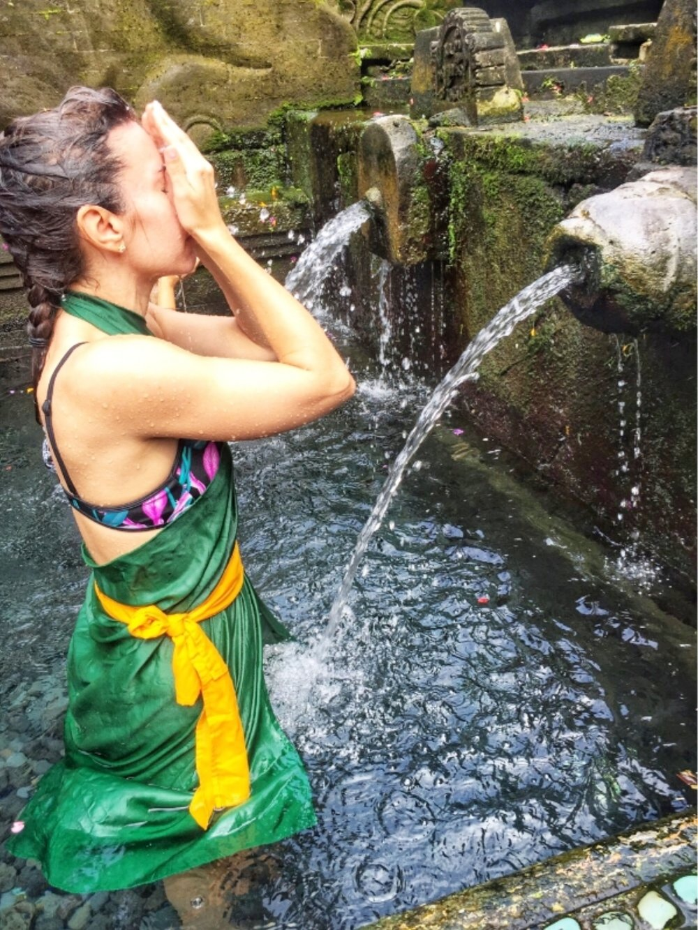 The ritual of Bali's Holy Water Spring