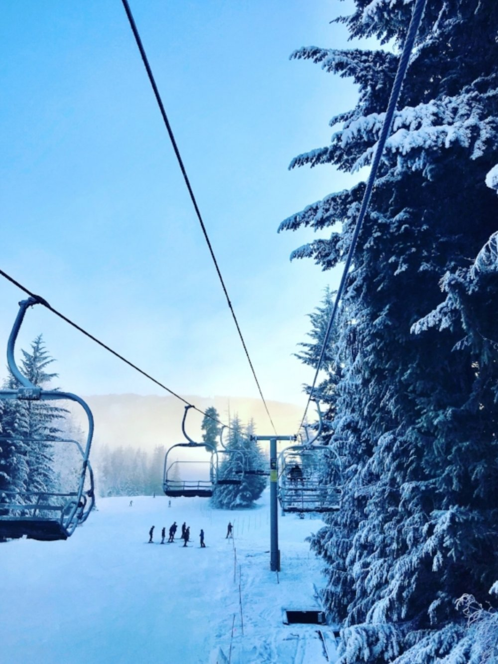 Your MAX4 lesson will get you up on the mountain to enjoy mornings like these!