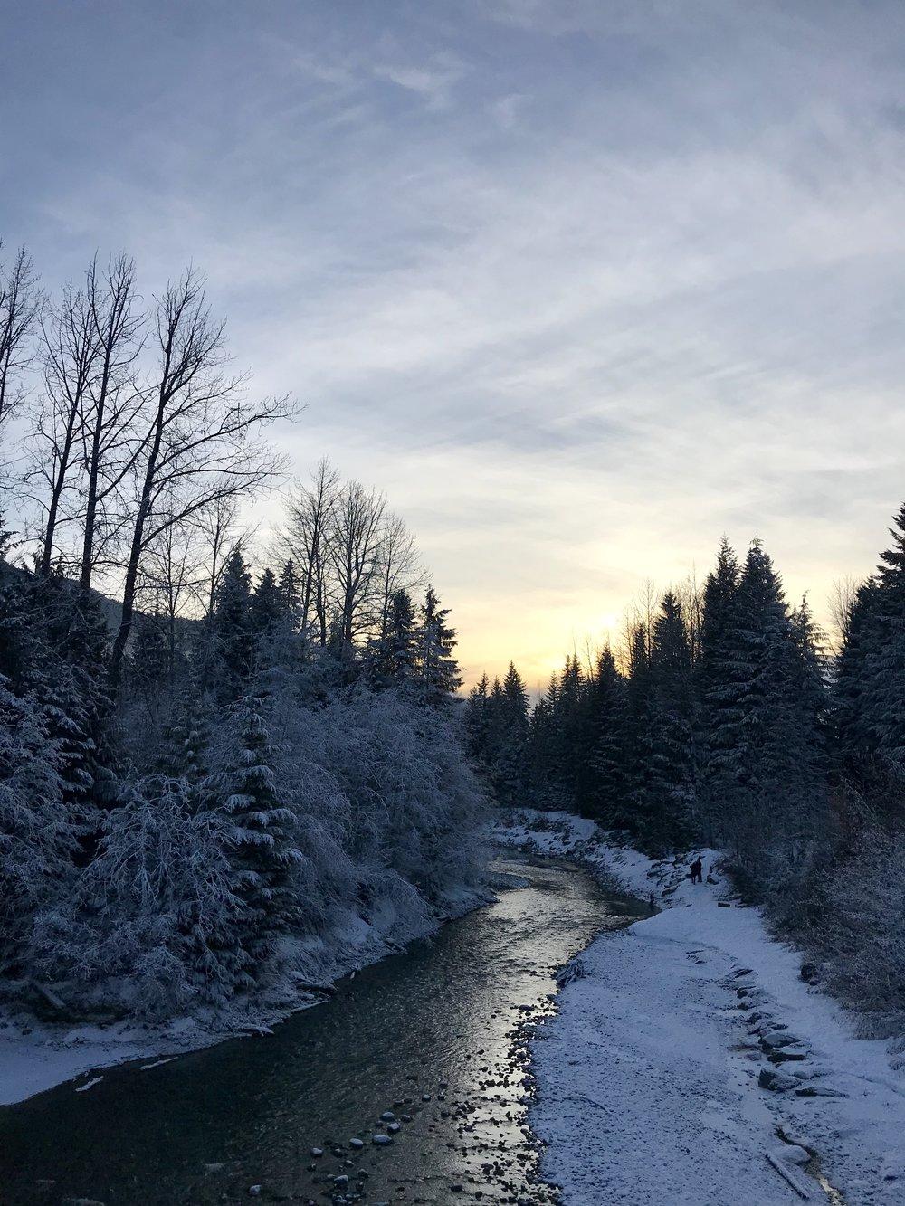 Beautiful scenery Whistler BC