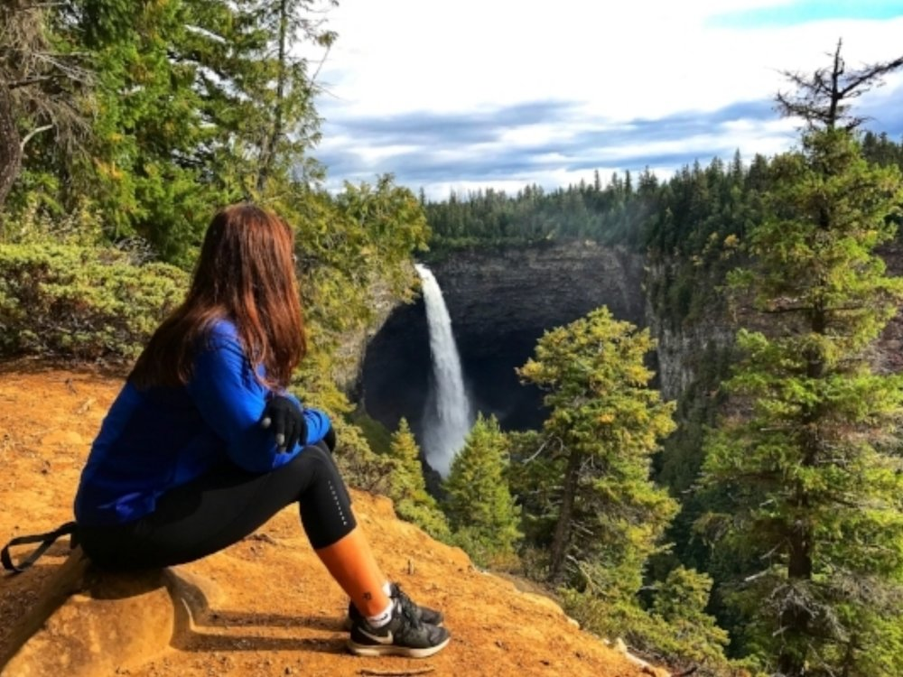 Overlooking Helmcken Falls