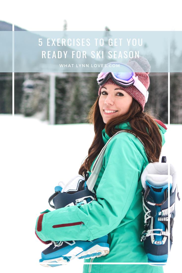 5 Exercises to Get You Ready for Ski Season
