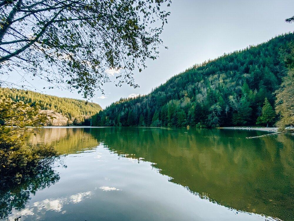 Easy hikes near Vancouver like Alice Lake Provincial Park