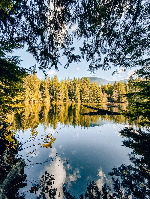 Edith Lake at Alice Lake Provincial Park Squamish BC